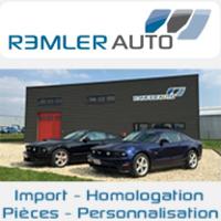 REMLER Auto, Import, homologation, pièces et personnalisation Mustang