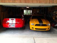 Garage au Texas 2007 GT500 2013 Boss 302 LS 18.jpg